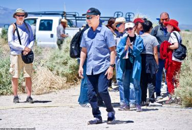 Attorney Dale Minami, Minami and Lew, L.L.P.,shown here during the 50th Annual Manzanar Pilgrimage, April 27, 2019, at the Manzanar National Historic Site.