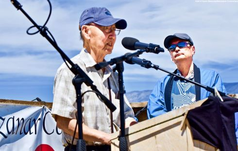 Activist Jim Matsuoka was honored by the Manzanar Committee with the 2019 Sue Kunitomi Embrey Legacy Award during the 50th Annual Manzanar Pilgrimage, April 27, 2019, at the Manzanar National Historic Site.