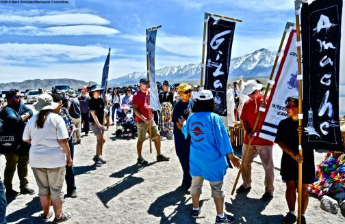 The interfaith service during the 50th Annual Manzanar Pilgrimage.