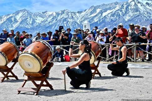 For the 13th consecutive years, UCLA Kyodo Taiko performed during the 50th Annual Manzanar Pilgrimage.