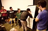 Wrap-up: Students discuss amongst themselves what they took from the weekend and next steps.